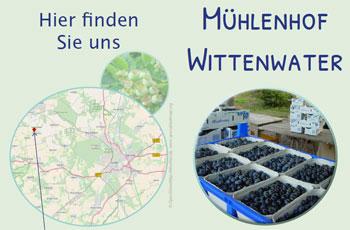 Mühlenhof Wittenwater - Info-Flyer
